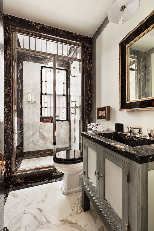 An A List Designer S Iconic New York Home For Sale Bathroom