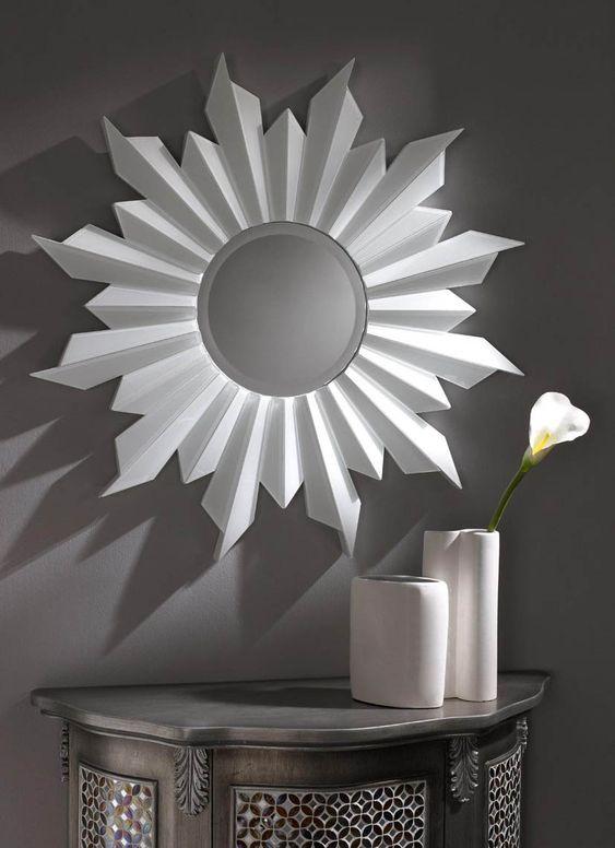 Espejos de cristal moderno brujas decoracion beltran tu - Decoracion de espejos ...