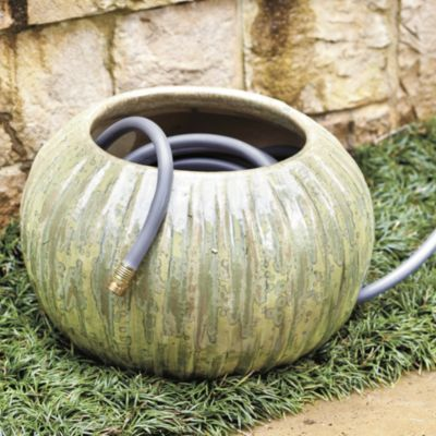 Valencia Hose Pot Ballard Designs ceramic clay pot conceals