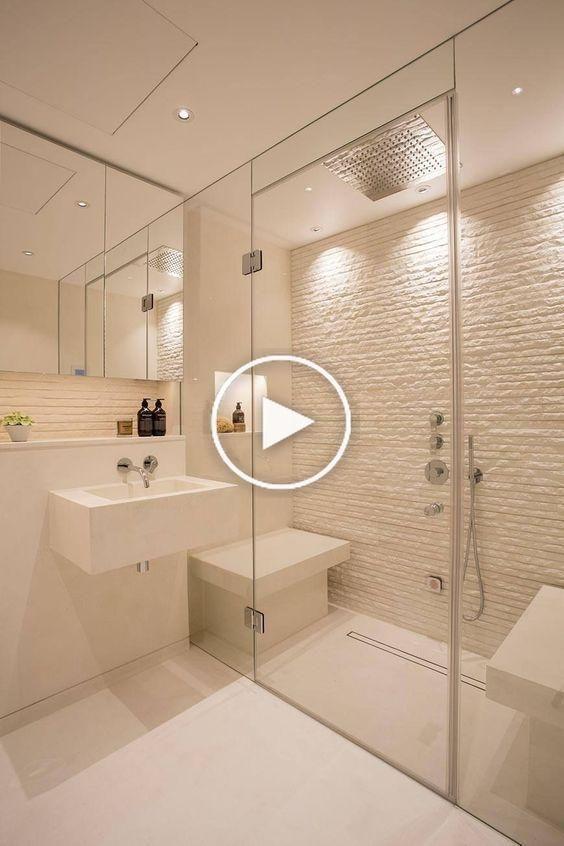 Kleine Badideen Modernes Bad Badorganisation Baddekoration Kleinebadezimmer Badezimmerideen In 2020 Wohnung Badezimmer Duschraume Badezimmer Innenausstattung