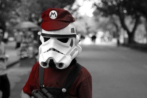 Mario trooper
