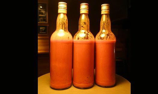 Las botellas de DYC para la salsa brava es tradición de la casa