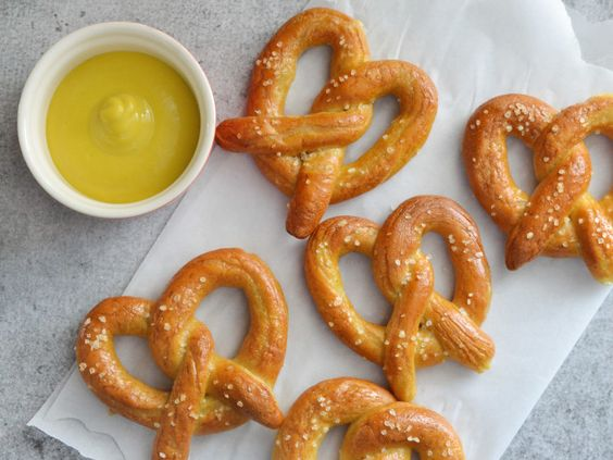 How to Make Soft Pretzels:  Skip the trip to the mall and recreate that giant pretzel magic at home.