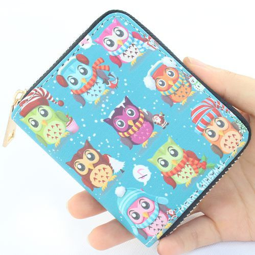 New Cute PU leather printing dogs/cats wallet,Girl's purse,Women coin wallet card ID holder childrens wallets Kid Clutch purses