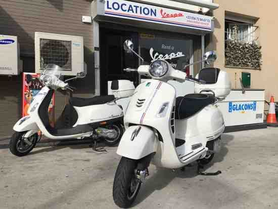 Rent A Scooter In Nice 06 Rent A Vespa 125 Gts And Enjoy The