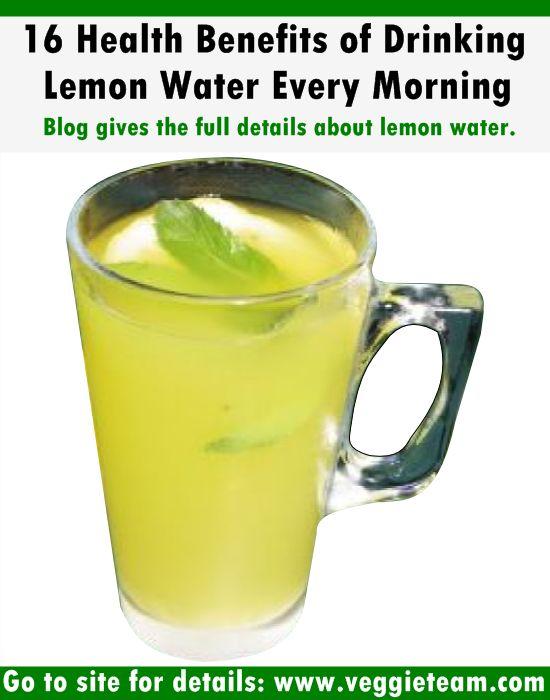 16 Health Benefits of Drinking Lemon Water Every Morning | Veggie Team