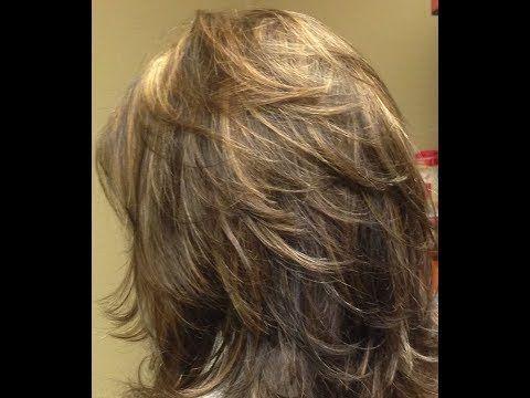 طريقة قص الشعر ديكرادي قصيرة خطوه بخطوه 90 درجه Short Layers Haircut Youtube Hair Styles Hair Beauty