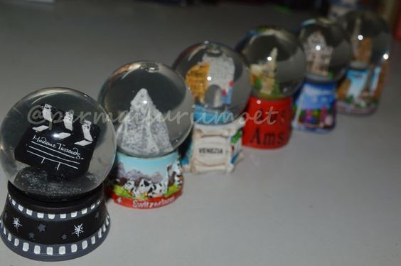 Part of my snowglobe colection