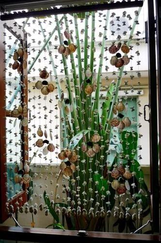 Natural Seashells Door Or Window Curtain Home Decor Ebay