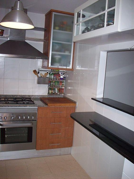 la cocina con pasaplatos de ro100 decorar tu casa es