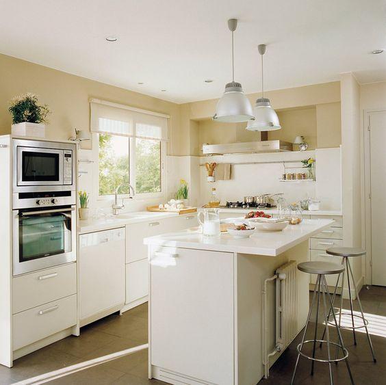 C mo plantear la decoraci n de cocina americana - Catalogo cocinas pequenas ...