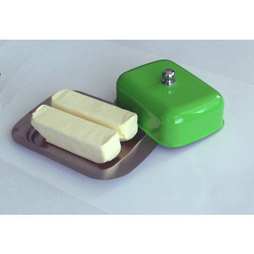 Butter Dish Butter Keeper Butter Container American Cheese Keeper - Stainless Steel by Polymerose, http://www.amazon.com/dp/B007P5WMJU/ref=cm_sw_r_pi_dp_9U9rqb1MDY0W0