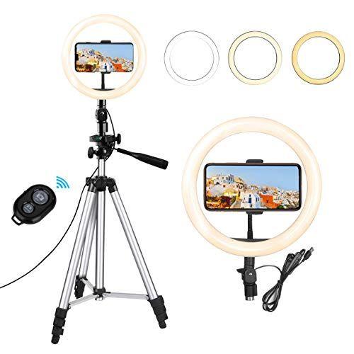 Eocean 10 2inch Selfie Ring Ligh Selfie Ring Light Led Ring Light Vlogging