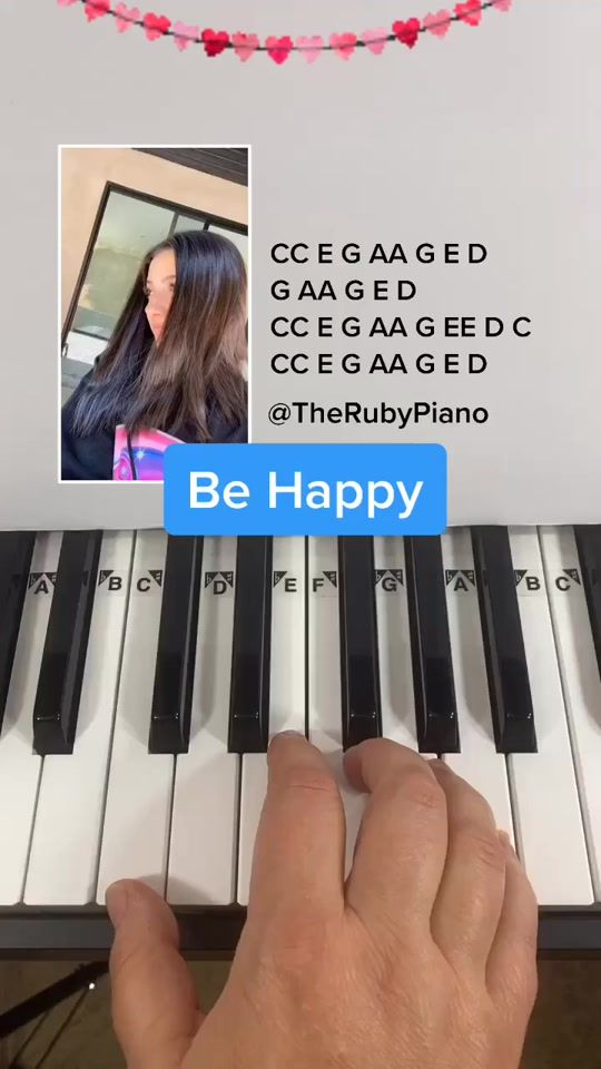 Ruby Piano Tutorials Lessons Therubypiano Official Tiktok Watch Ruby Piano Tutorials Lessons S Newes Piano Music Lessons Piano Songs Piano Notes Songs