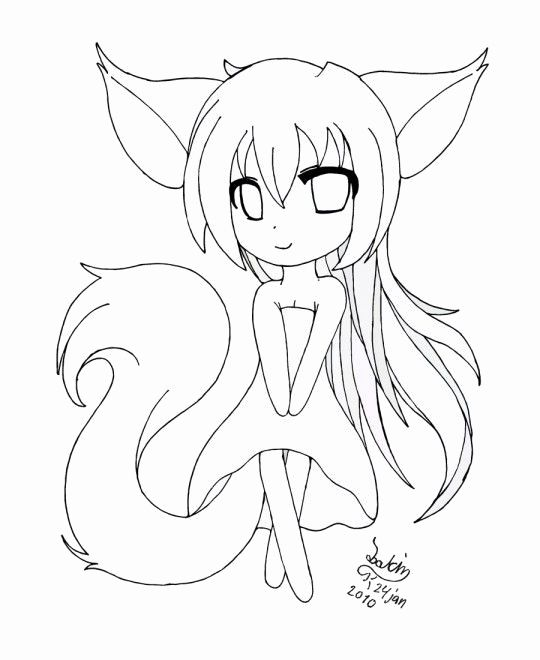 Anime Fox Coloring Pages Elegant Anime Printable Coloring Pages In 2020 Fox Coloring Page Cat Coloring Page Coloring Pages For Girls