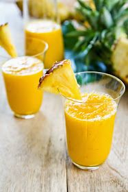 Raw Edibles: Healing Pineapple Smoothie For Relieving Inflammation & Pain