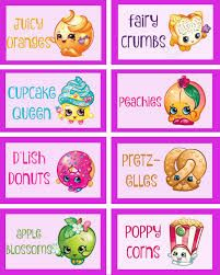 Image result for free shopkins birthday printables