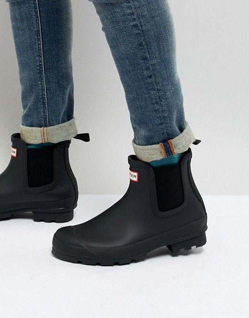 hunter chelsea boots black friday