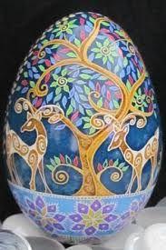Resultado de imagen para huevos rusos decorados