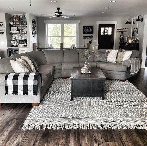 80 Most Popular Living Room Decor Ideas Trends On Pinterest You Can T Miss Out Cozy Ho Modern Farmhouse Living Room Farm House Living Room Fall Living Room Most popular cozy living room