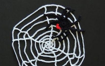 Telaraña de ganchillo para Halloween: Decoración paso a paso - Te proponemos tejer una telaraña de ganchillo para decorar la casa y celebrar la fiesta de Halloween. Toma nota.