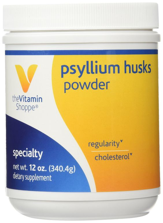 Vitamin Shoppe - Psyllium Husks Powder, 12 oz powder