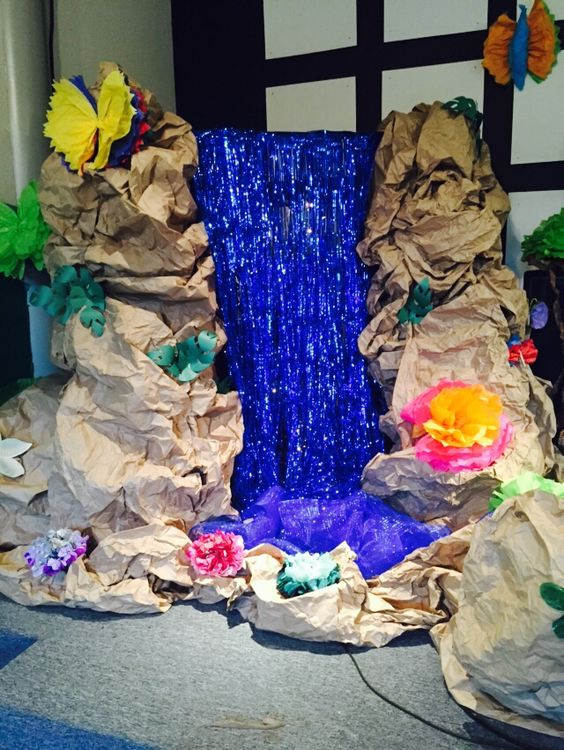 Journey off the Map VBS decorations