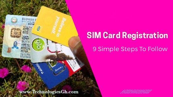 SIM re-registration & linking to Ghana card