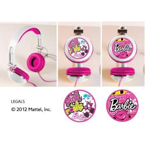 Casque Audio Barbie ref 108