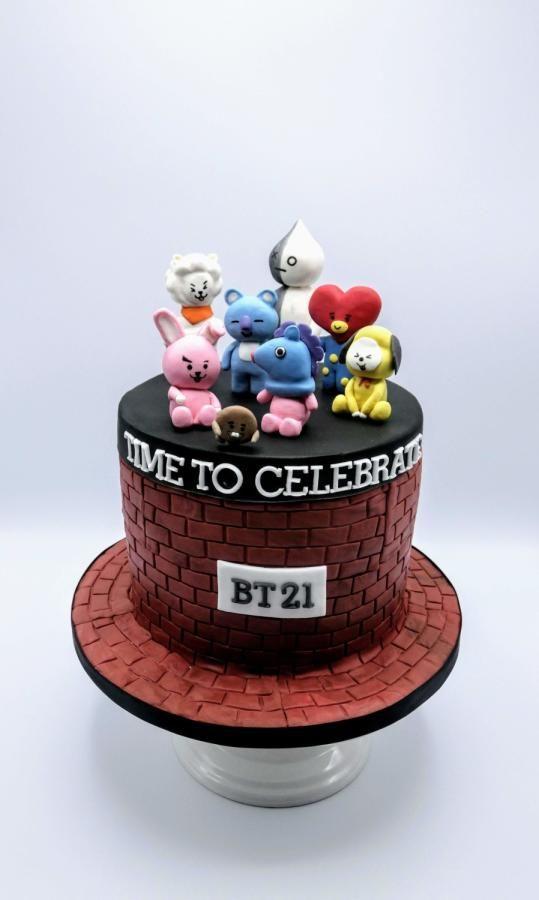 Recipe Bts Cake