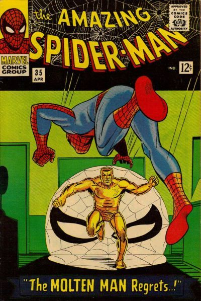 Cover for The Amazing Spider-Man (Marvel, 1963 series) #35