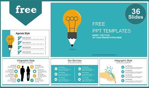 Creative Idea Bulb Powerpoint Template List Powerpoint Template Free Powerpoint Templates Business Powerpoint Templates