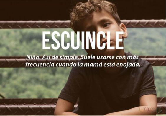 expresiones mexicanas significado de escuincle