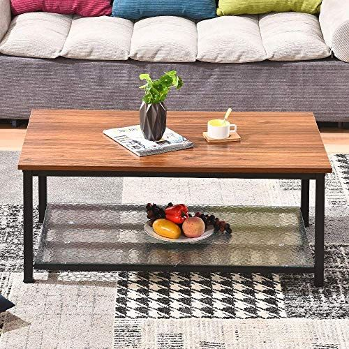 Rainbow Tree Industrial Style Square Coffee Table Side T Https