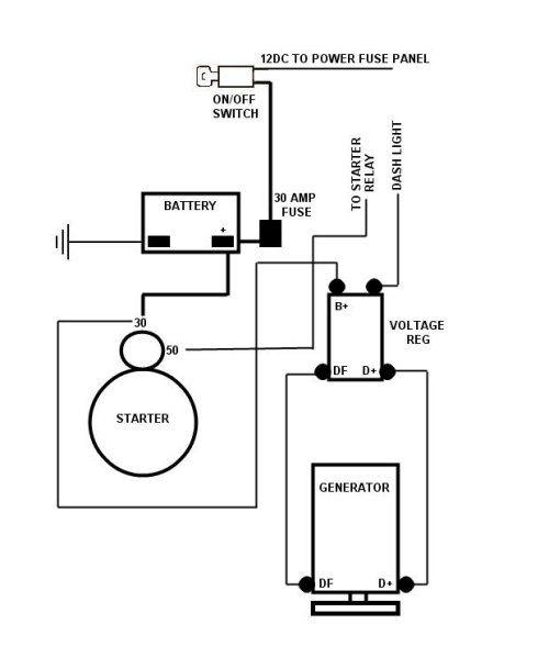 1600 Vw Alternator Wiring Diagram