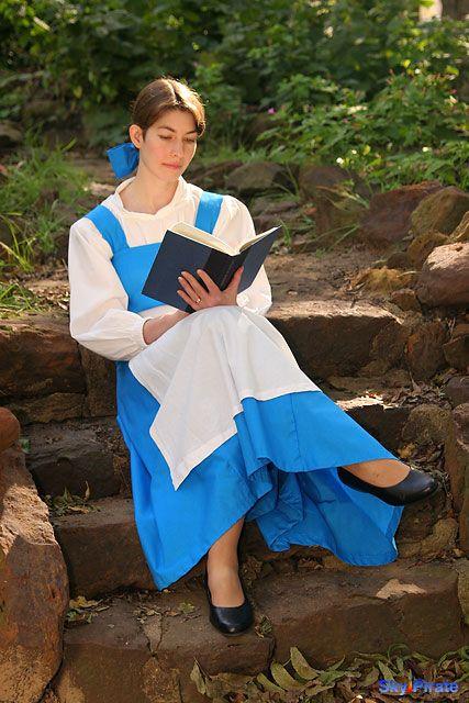 Belle Blue Dress - Belle (Blue Village Dress) from Disney&-39-s Beauty ...