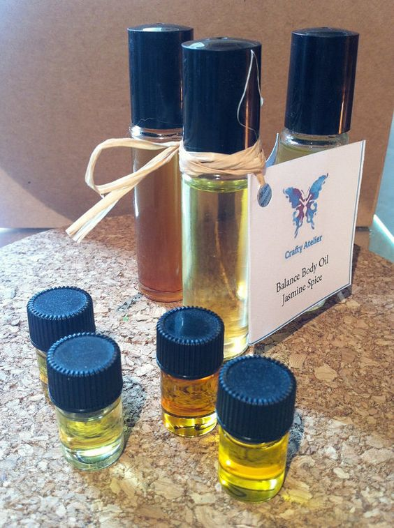 Body Oil Jasmine Spice Roll On #Perfume by CraftyAtelier on Etsy, my own blend of essential #oils