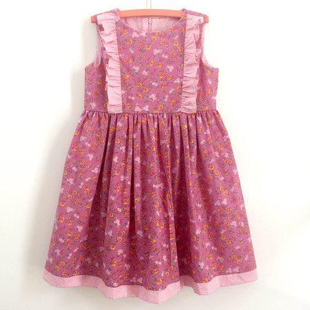 Vestido Floral - 100% algodão