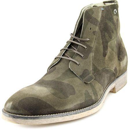 Diesel Quartium Men Suede Green Chukka Boot