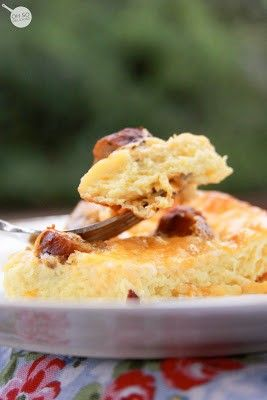 Butterscotch Pull-Aparts & Egg Souffle {Christmas Morning Breakfast Idea} - Breakfast - Main Dish - Recipe Index