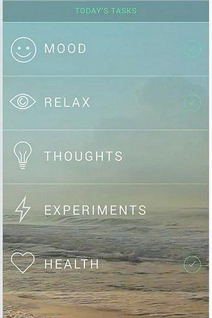 Sometimes an app can help people with anxiety focus and relax.