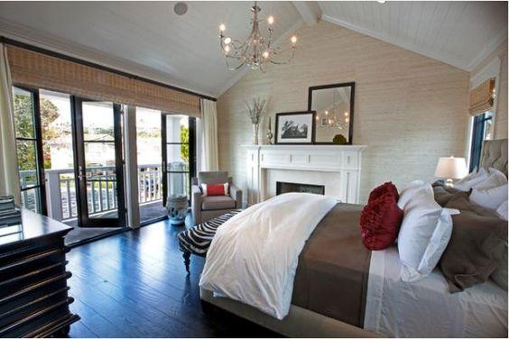15 Beautiful bedroom design ideas with balconies  Master bedroom