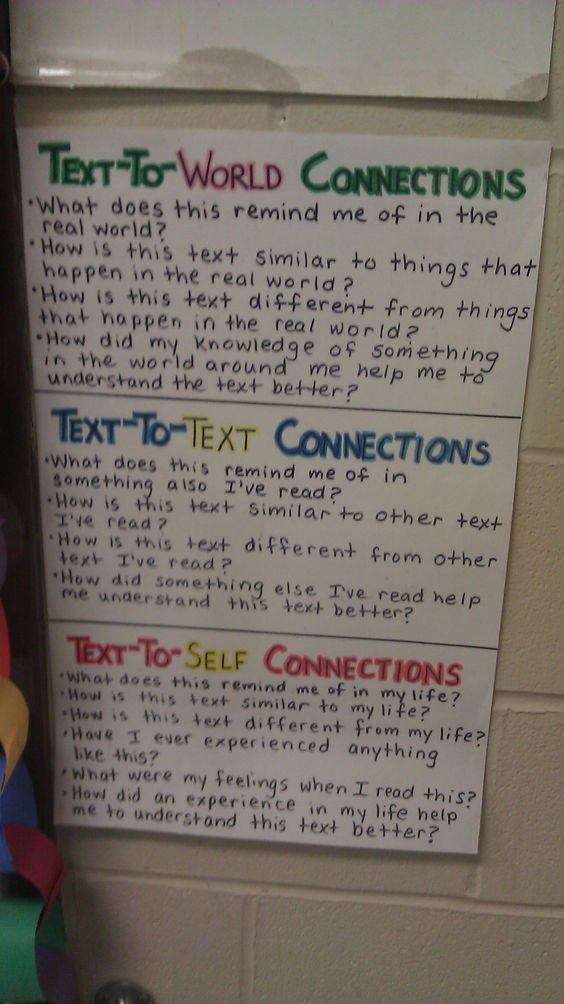great reading prompts to help students share their connections to the text