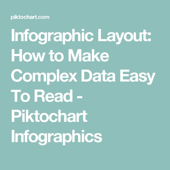 Infographic Layout: How to Make Complex Data Easy To Read