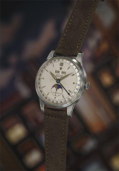 "Rolex Ref. 8171 ""Padellone"" Triple Calendar, 1950"