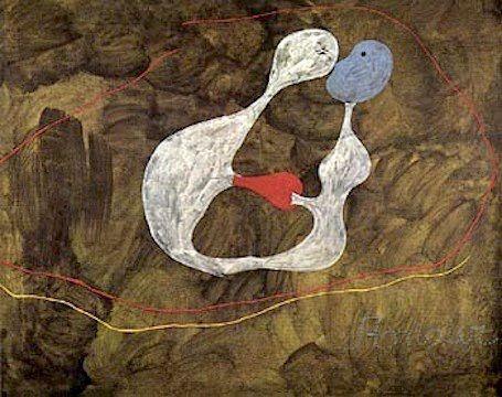 Joan Miró -Lovers
