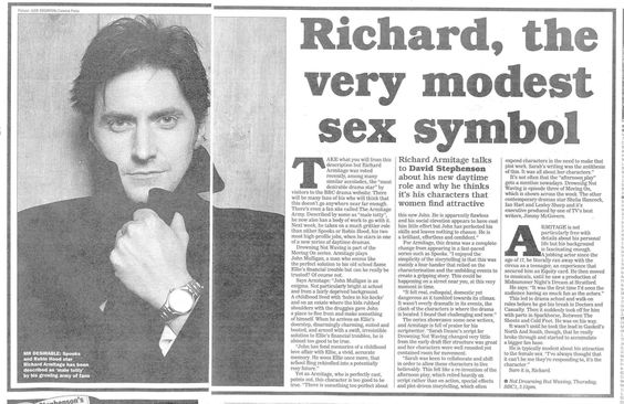 (2) Richard Armitage