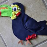 Paper Plate Toucan: