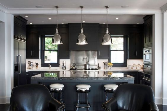 hard to do a successful dark kitchen, but I like this one