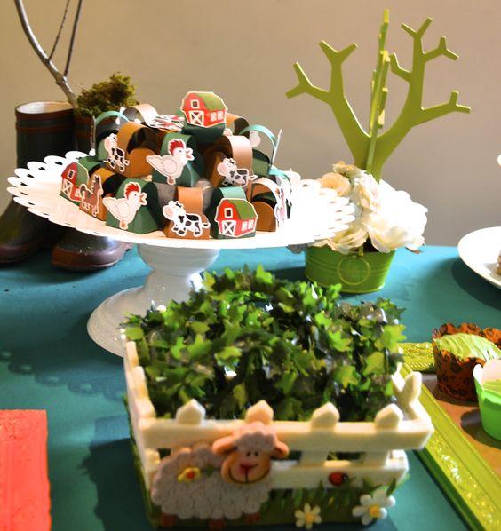 Detalhes da Festa na Fazenda  www.babolina.com.br